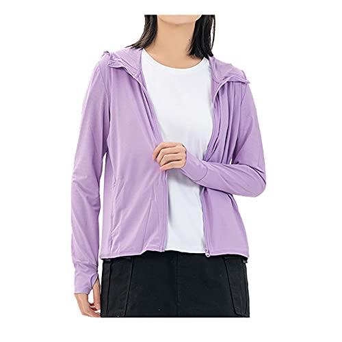 Protector solar ropa de mujer ligero transpirable hielo deportes al aire libre abrigo protector solar ropa