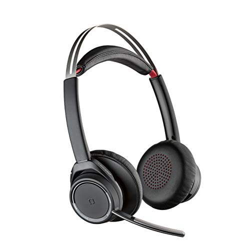 Plantronics 202652-01 - Auriculares de diadema abiertos con micrófono, inalámbricos
