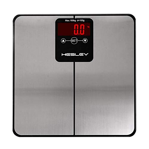 HESLEY Bmi Body Analyzer Weighing Machine Scale 180 Kg 10 Users