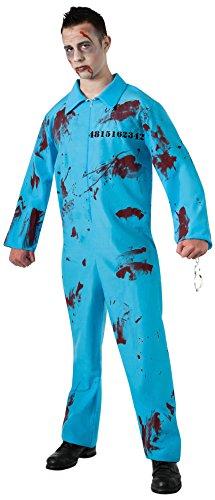 Rubie's-déguisement officiel - Rubie's- Déguisement Prisonnier Zombie - Taille Unique- I-887597