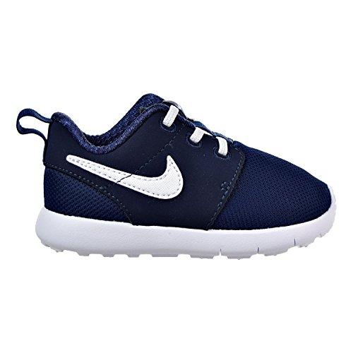 Nike Nike Baby-Jungen Roshe One (TDV) Sneaker, Blau Weiß Mitternachtsmarine Weiß, 21 EU