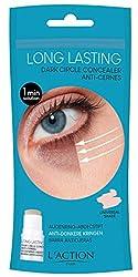 Ofertas Tienda de maquillaje: Contorno de ojos L'ACTION Contorno de ojos Cosmética Mujer Anti-Ojeras 4 g