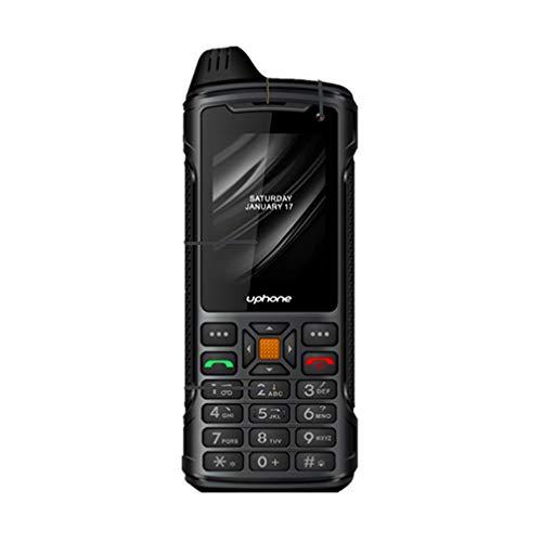 XMZWD Android Walkie Talkie Bluetooth Portátil Walkie WiFi Talkie One Walkie Talkie Global Profesional Al Aire Libre,Posicionamiento GPS En Espera,Intercomunicador Nacional,Pantalla LED