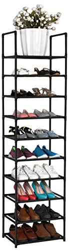fiducial home 10 Tiers Shoe Rack 20-25 Pairs Sturdy Shoe...