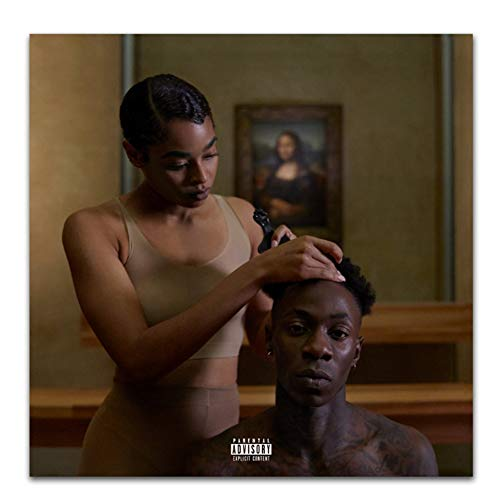 Carteles e Impresiones The Carters 2018 Beyonce Cover Everything Is Love Art Poster Canvas Painting Home Decor-50x50cm Sin Marco