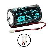 XML Battery 3.6v 14000mAh ER34615M 0-9912-K 09912K Battery Li-SOCl2 for Visonic Wireless Siren MCS-710 MCS710