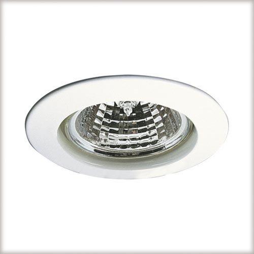 Preisvergleich Produktbild Paulmann 5792 Einbauleuchte Premium Line Einbaustrahler Weiß Einbaulampe max. 1x50W Einbaulicht 230V Einbauspot GU10 Deckeneinbaustrahler Außen Deckenleuchte,  Aluminium