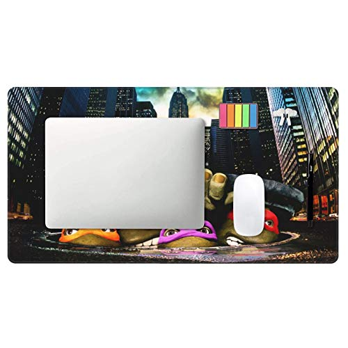 """Mouse Pad Nin.Ja Turtles Large Gaming Mousepad Extended Desk Mat Ultra Thick Mousepad for Office Gamer Home 29.5""""X15.8"""" Photo #2"""