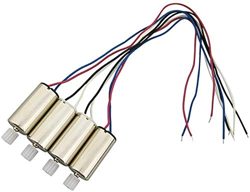 Auoeer 4 CW + CCW Motor 4 Motor Electric per Syma X23 Quadcopter Drone Tools