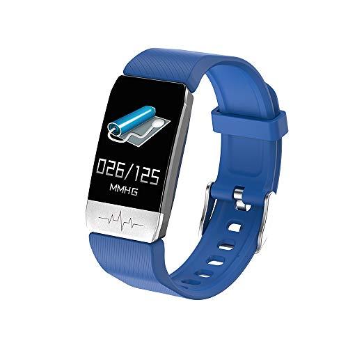 Huir Smart Watch   Sportarmbänder   Kalorienzähler Aktivität Schrittzähler Smart Armbanduhr, Herzfrequenz/Körpertemperatur Schlafmonitor für Frauen Männer