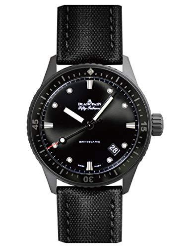 [ブランパン] BLANCPAIN 腕時計 5000-0130-B52A フィフティファゾムス バチスカーフ ブラックダイアル 新品...