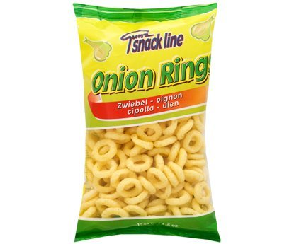 Maissnack Onion Rings 125g