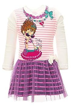 Disney Fancy Nancy Toddler Girls  Long-Sleeve Tulle Dress  2T White