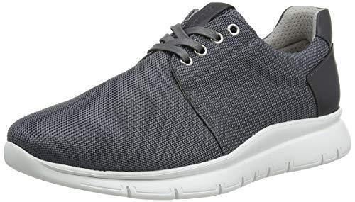 Frau Sneakers, Sneaker Uomo, Grigio (Grigio Grigio), 42 EU