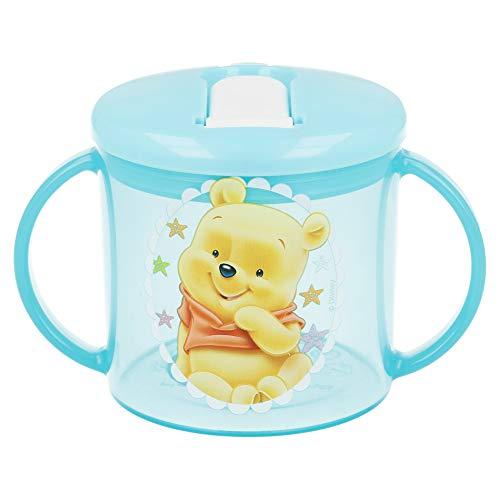 Winnie l'ourson Mug – Formation Facile 210 ML Winnie bébé Bleu prêt à Jouer (Stor 39635 commutateur écrans)