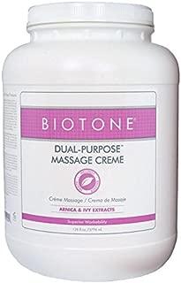 BIOTONE Dual Purpose Massage Creme 1 Gallon