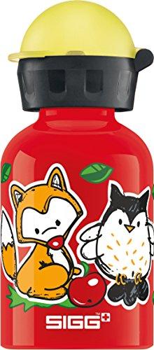 SIGG Forest Kids Borraccia bambini (0.3 L), Borraccia alluminio con chiusura ermetica e priva di sostanze nocive, Borraccia bimbi super leggera in alluminio