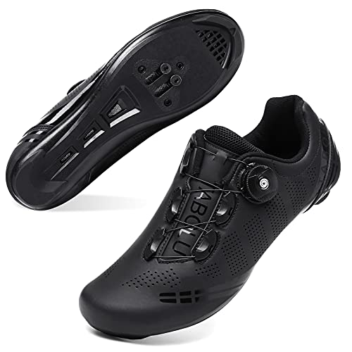 JOINFREE Men Women Road Bike Cycling Shoes with Delta Cleats Set Road Riding Shoes Compatible with...