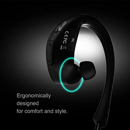 Wireless Headphones Sports Earphones Compatible with iPhone 12, Mini, Pro, Pro Max - Hands-Free Mic Folding Neckband Headset Earbuds Hi-Fi Sound