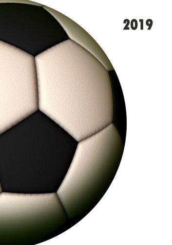 Kalender 2019 - Fußball: DIN A5, 1 Woche auf 2 Seiten