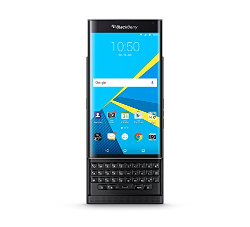 "BlackBerry Priv - Smartphone libre Android (5.4"", 18 MP, 32 GB, 3 GB RAM, teclado QWERTZ), color negro"