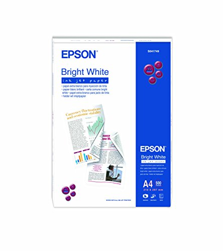 Epson C13S041749 Papier Inkjet 90 g / m2 A4, 500 Blatt Pack, hell weiß