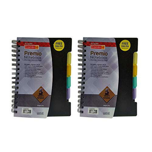 Camlin Premio Notebook Pack of 2