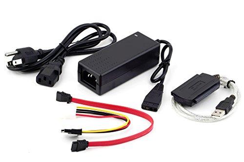 SaySure - USB 2.0 to IDE SATA S-ATA 2.5 3.5 HD HDD Hard Drive Adapter