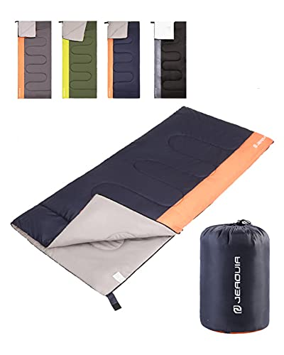 Sleeping Bag for Kids Adults Boys Girls Youth, Cold&Warm Weather, Backpacking Ultralight Lightweight...