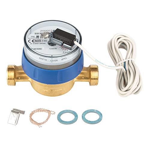 Preisvergleich Produktbild Wasserzähler Q3 = 2, 5 / QN 1, 5 BL 110 mm mit Impulsausgang 1 Liter GSD 8 Kaltwasser
