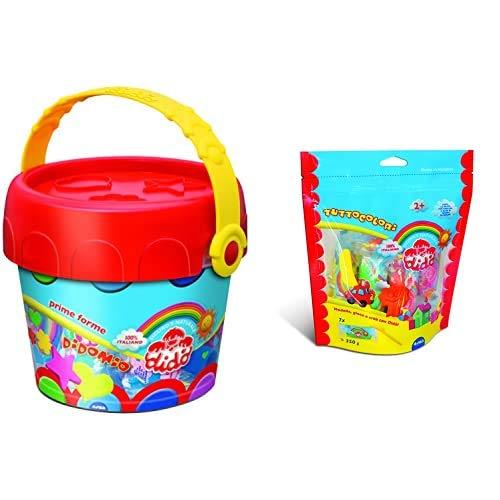 Didograve Secchiello Prime Forme, Multicolore, 468108 & Busta Tuttocolori, Colori Assortiti, 399600