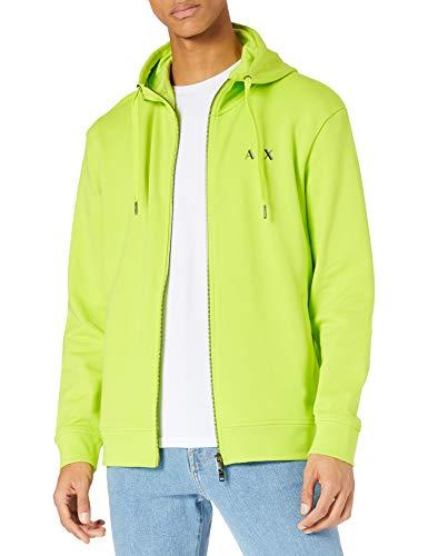 ARMANI EXCHANGE Acid Lime Sweatshirt Maglia di Tuta, XL Uomo
