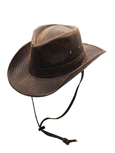 Weathered+Outback+Outdoorsmen+Shapeable+Hat%2c+Silver+Canyon%2c+Brown