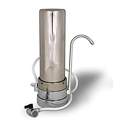 Stainless Steel Countertop Water Filtration Unit