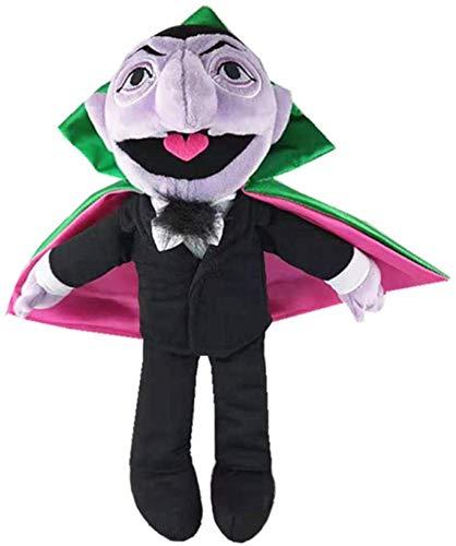 DINEGG Street The Conde Von Count Llush Toy Toy Elmo Earl of Vampire Relleno Toys Regalos de cumpleaños para niños Muñecas de Navidad YMMSTORY