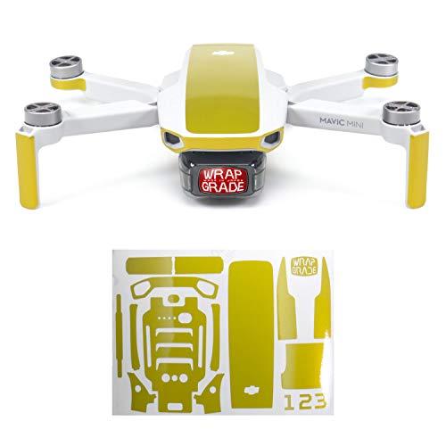 WRAPGRADE Colore di Accento Skin Compatibile con DJI Mavic Mini (LIMONCINO Yellow)