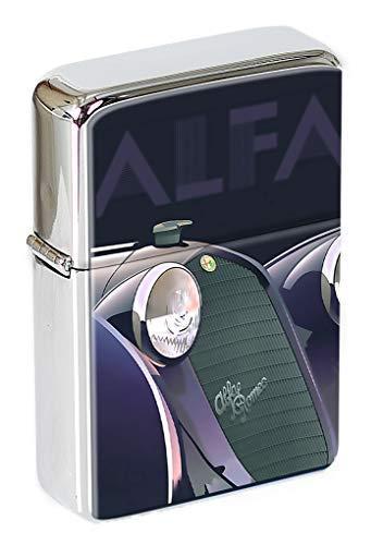 1935 Alfa Romeo Anzünder Klappfeuerzeug in einer Geschenkdose