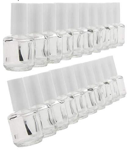 10 ml rond Vernis bouteilles (vide) X10