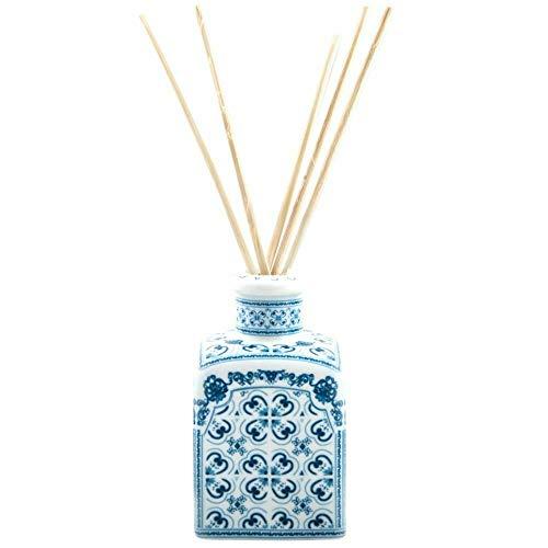Rizo café bella mujer romántica perfume tierra de Capri 250 ml difusor