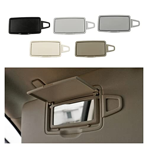 Keep it simple Sun Shade Visor Maquillaje Cosmetic Mirror Cover Fit para Mercedes Benz  ML GL GLE Class W166 W292 Auto Accesorios 16681001109H43 (Color : Almond Beige R)