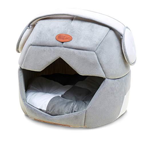 Haierr Pet Nest hondenmand kattenstrooisel afneembaar en wasbaar 20 kg lengte 53 x breedte 49 x hoogte 48 cm