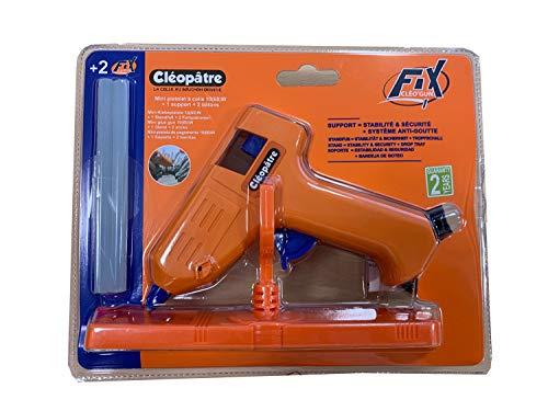 COLLES 44982 Pistolet Cléopâtre Puissance 10w Inclus 2 Recharges Blanc