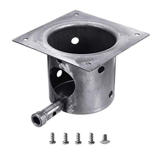 Yaootely Fire Burn Pot und Hot Rod Ignitor Kit Ersatzteile für Pit Boss und Traeger Pellet Grill Plus Schrauben und Sicherung