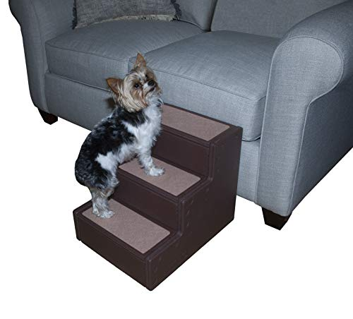Pet Gear Pet Step III, Coffee, for Pets up to 50 pounds