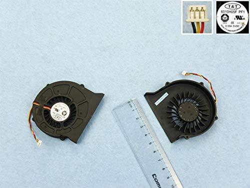 Lüfter Kühler Fan Cooler Version 2 Kompatibel für MSI EX620 EX623 EX628 EX630 GX623 CX600 VR630 GX62