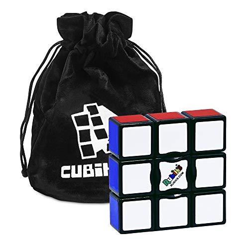 Cubikon Original Rubik's Edge - Rubiks Cube 1x3x3 - Zauberwürfel inkl Tasche