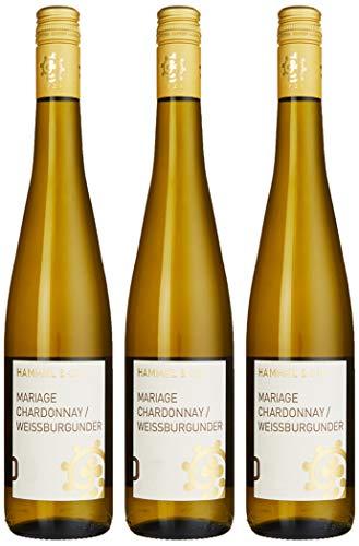 Weingut Hammel & Cie Mariage & Weißburgunder Chardonnay trocken (3 x 0.75 l)