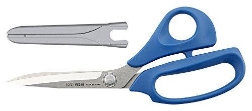 Kai V5210B Plastique poignée Ciseaux, Bleu, 210 mm, Ciseaux