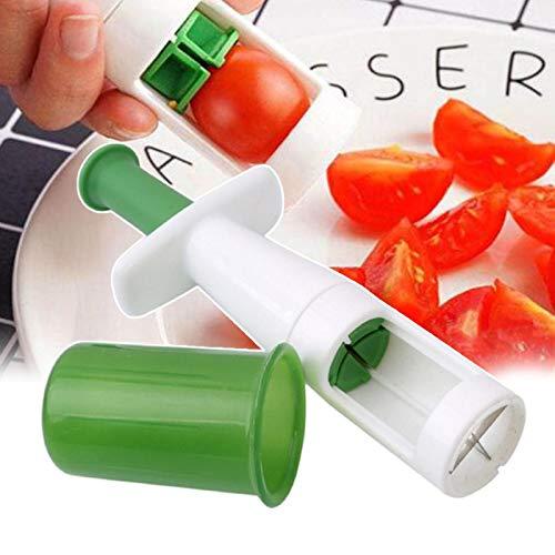 HHKX100822 Fruit Tomato Grape Peeler Slicer Cutter Anti-Slip Durable Kitchen Easy Tool A