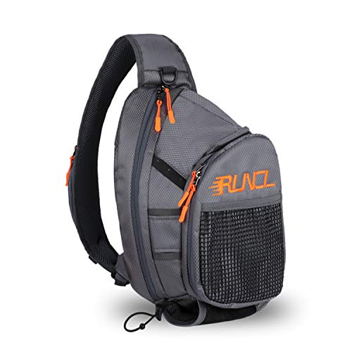 RUNCL Fishing Tackle Storage Bag, Fly Fishing Sling Pack, Sports Backpack - Tournament Proven,...